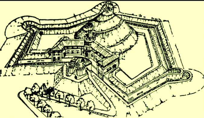 Wizualizacja fortu Krakus
